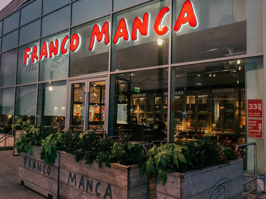 franco manca sourdough pizza westfield london. Black Bedroom Furniture Sets. Home Design Ideas