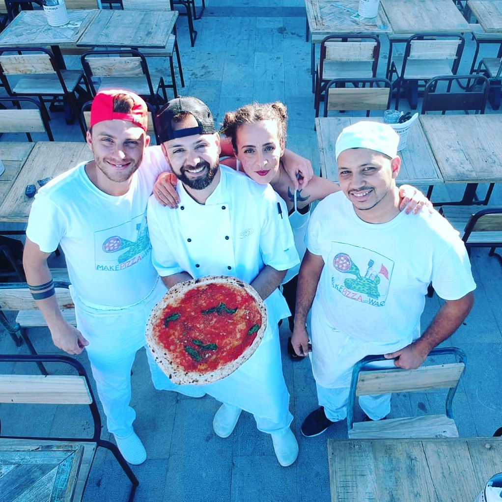 Franco Manca Salina team