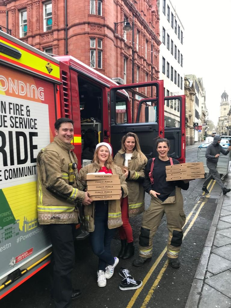 Franco Manca Christmas Day pizza donations
