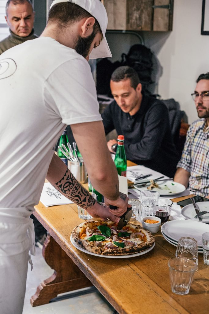 Franco Manca competition judges
