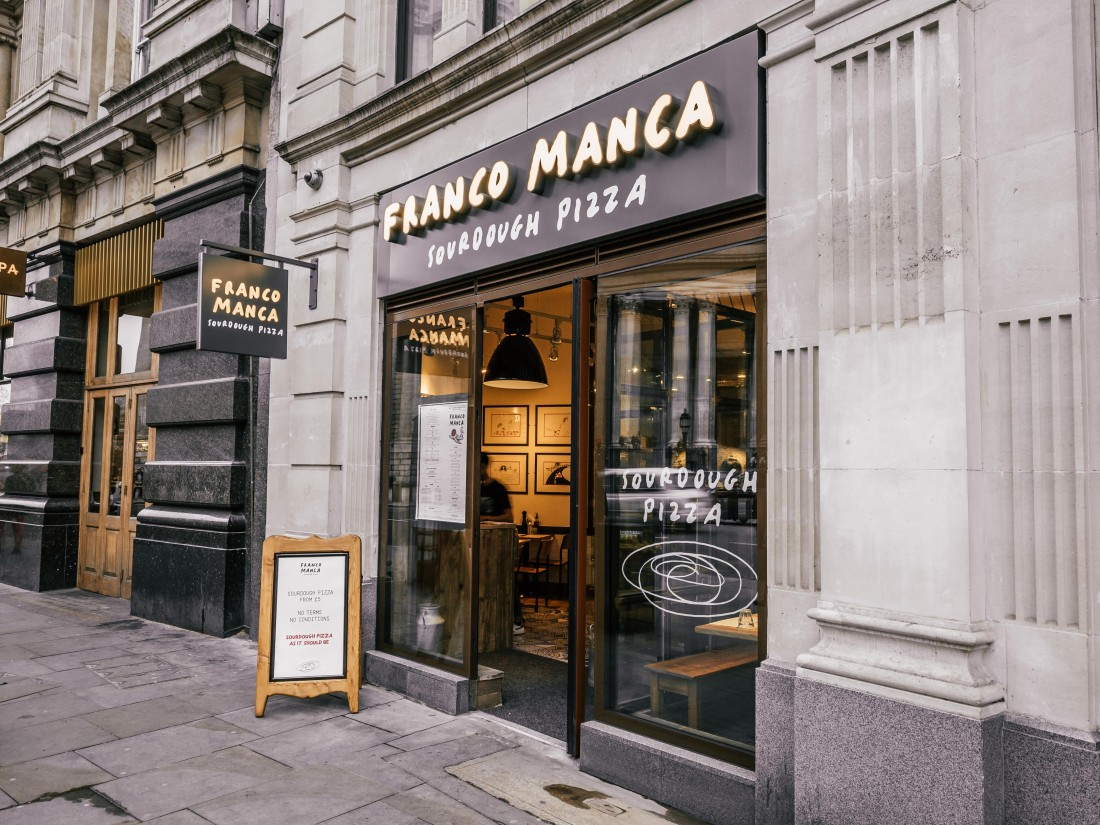 Franco Manca St Paul's external