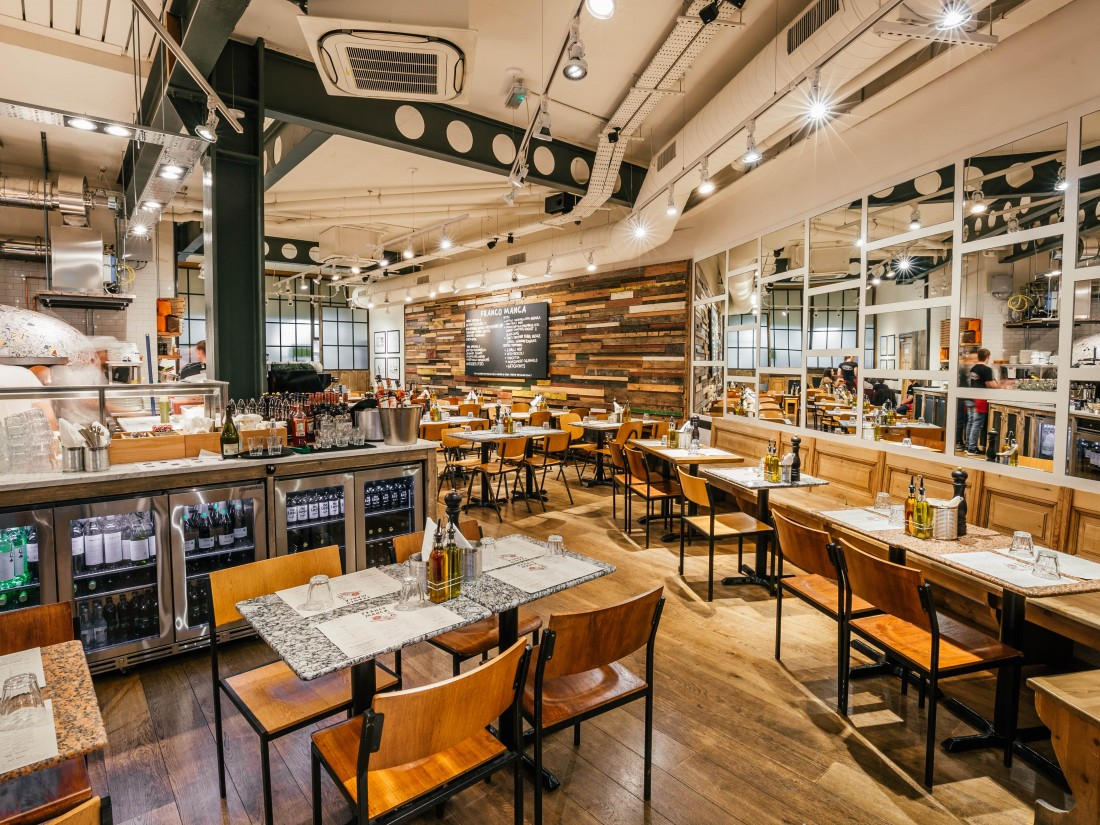Franco Manca St Paul's internal