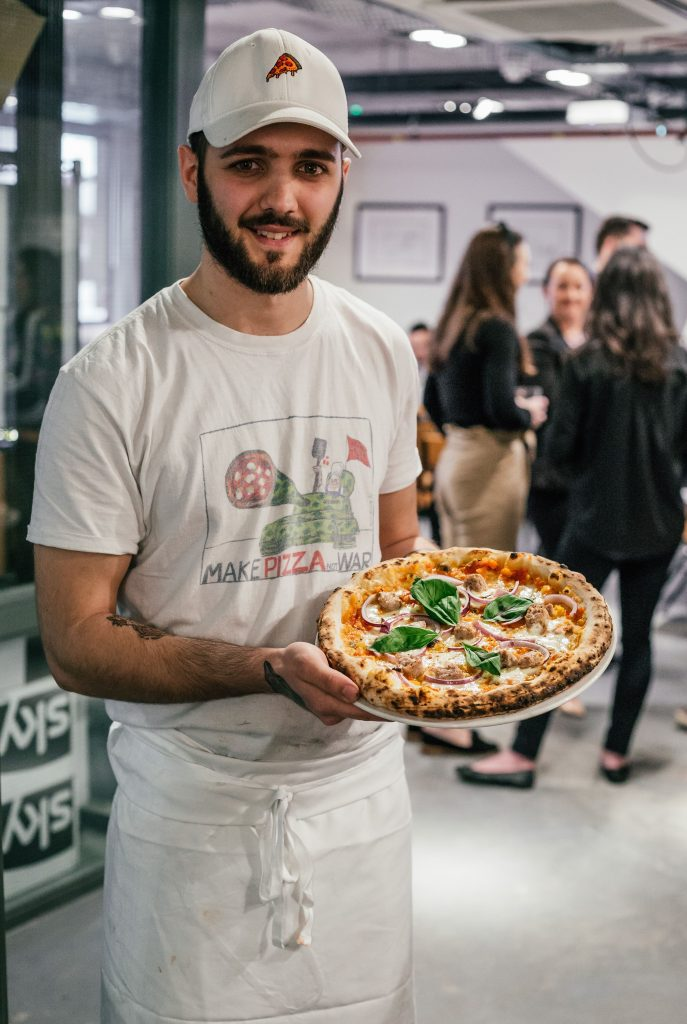Franco Manca chef competition winner