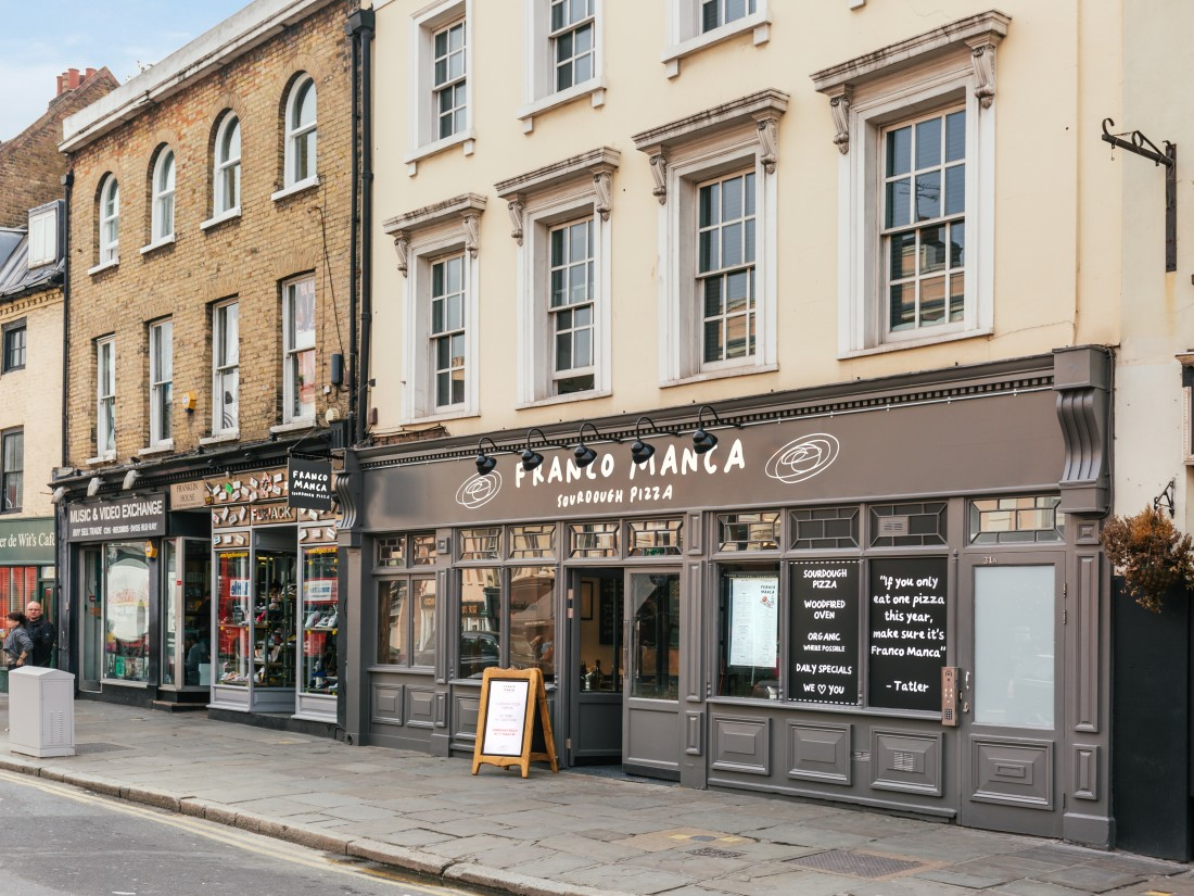 Franco Manca Greenwich external
