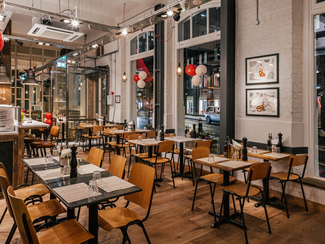 Franco Manca Bishopsgate internal