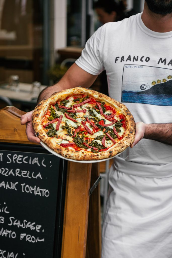 Franco Manca No.7 pizza Feb 2020